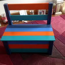 colorful pallet toy box and chair 99 pallets