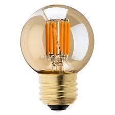 best vintage led filament bulb 3w 2200k gold tint edison g40 globe