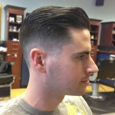 short haircuts eith tapered sides the classic taper haircut