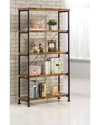 holiday special coaster 801542 barritt antique wood metal bookcase