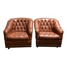 Leather Tufted Chair 20 Tufted Leather Club Chair Nyfarms Info