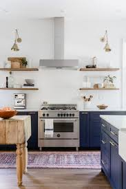 Kitchen Cabinets Without Handles Best 25 Navy Kitchen Cabinets Ideas On Pinterest Navy Cabinets