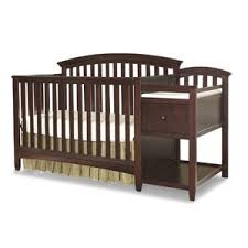 White Crib With Changing Table Crib U0026 Changing Table Combo