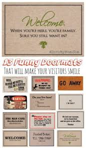 Funny Doormat Sayings Mothers Day