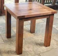 rustic oak dining table rustic dining table ebay