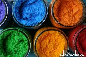 diy color powder for a color fight dukes and duchesses