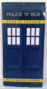 Doctor Who Shower Curtain Geek Fuel July 2016 Review Ghostbusters Dr Who And Alien