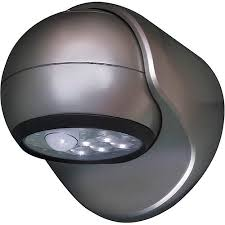 Motion Activated Outdoor Light Fulcrum Light It Wireless Motion Activated 6 Led Porch Light