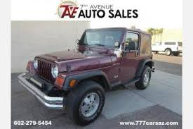 used jeep wrangler for sale 5000 used jeep wrangler for sale in az edmunds