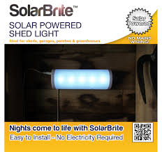 Solar Shed Light by The Sharper Edge Gifts U0026 Gadgets Solar Brite Deluxe Solar