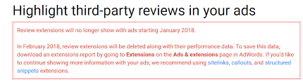 extensions review dropping adwords review extensions