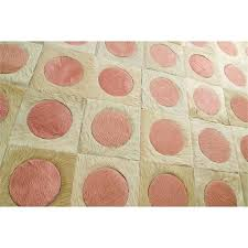 Cowhide Rug Patchwork Cream U0026 Pink Patchwork Cowhide Rug Limelight From Kyle Bunting Inc