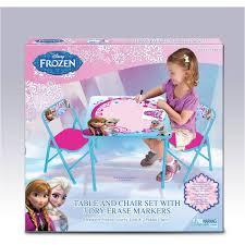 Frozen Toddler Bedroom Set Disney Frozen Erasable Activity Table Set With 3 Markers Walmart Com