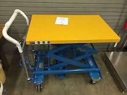 Hydraulic Scissor Lift Table by Southworth Dandy Lift Hydraulic Scissor Lift Table 770 Lb Cap Uda