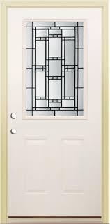 Prehung Steel Exterior Doors Mastercraft Ve 106 Primed Steel Half Lite Prehung Exterior Door