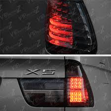 2000 2006 bmw x5 e53 smoke chrome tail light led signal brake