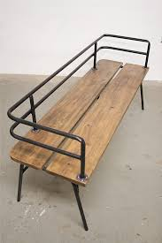 bench order panka made to order bench built with reclaimed wood and recycled