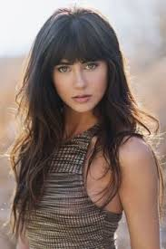 blunt fringe hairstyles best 25 blunt bangs ideas on blunt fringe bob