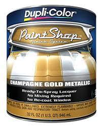 duplicolor bsp213 paint shop paint champagne gold metallic jegs