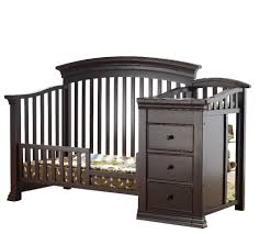 Crib And Change Table Combo by Sorelle Vista Elite 4 In 1 Convertible Crib And Changer Espresso