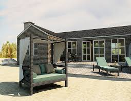 Outdoor Daybed With Canopy And Fashionable Outdoor Beds For The Ultimate Backyard Lounge