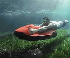 jeep snorkel underwater jetski