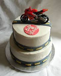 motorcycle birthday cake cakecentral com