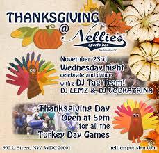 thanksgiving nellies nellie s sports bar
