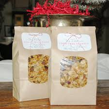 prettie parties christmas granola gifts