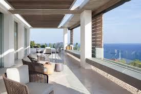 modern mediterranean villa in ibiza with panoramic ocean views
