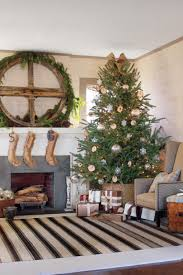 get the look rustic casual christmas decorating ideas southern