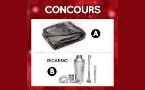 ricardo cuisine concours concours gagnez un ensemble à cocktail ricardo cuisine québec gratuit