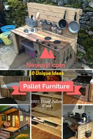 Outdoor Furniture Made From Pallets Amazing Rustic Er Box Made From Pallets Beachbumlivin Diy