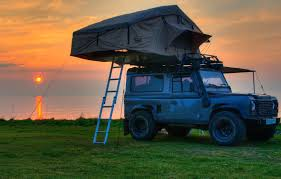 defender land rover 1997 land rover defender 90 u0026 110 expedition roof tent with annex king