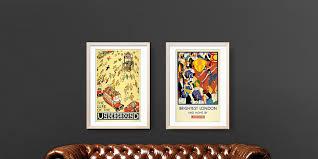 london vintage and retro posters london transport museum shop