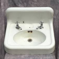 vintage wall hung sink cast iron wall hung sink