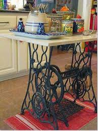 sewing machine table ideas 60 ideas to recycle vintage sewing machines recyclart