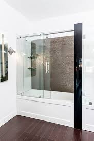 bathroom shower door ideas best 25 bathtub shower doors ideas on glass bathtub