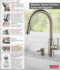home depot kitchen faucets delta kohler k 99259 sn artifacts single handle pull spray kitchen