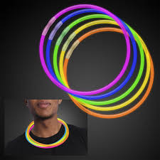 50 22 premium glow stick necklaces assorted colors