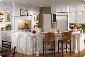 ideas for white kitchen cabinets furniture white thomasville cabinets with white faux brick back