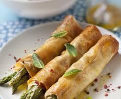 cuisiner asperges croustillants aux asperges recette de croustillants aux asperges