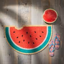 cadre paillasson interieur fruit tropical