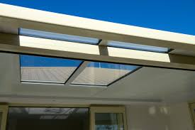 stratco flat roof pergola louvre haammss