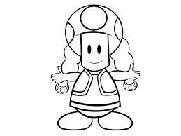 how to draw toadette from the mario games with pictures