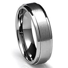 mens titanium wedding rings s tungsten wedding bands walmart