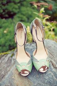 wedding shoes green green vintage wedding shoes