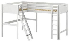maxtrix corner high loft loft beds by maxtrix kids furniture