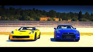 nissan gtr vs corvette z06 drag race 2015 chevrolet corvette z06 vs 2012 nissan gt r black
