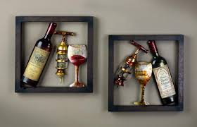 wine wall art trends also kitchen decor sets images getflyerz com